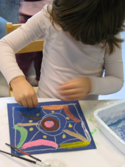 Wednesday October 16th workshop at IFJT, the children will be making kolams and mandalas!