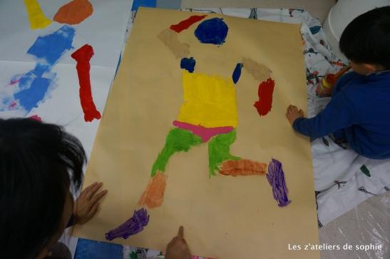 """""""Les couleurs de mon corps qui danse"""" avec Matisse!"""