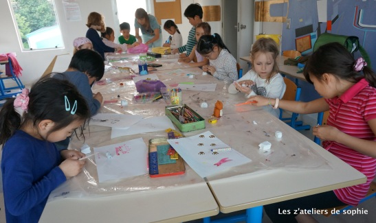 kami nendo, paper clay work with children
