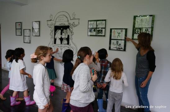Presentation of Nicolas Buffe's sketches