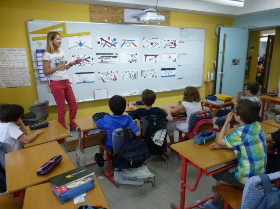 Etape vote du projet en classe (Laurence Meyer et les z'ateliers de sophie)