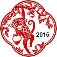 2016 sera l'année du singe!