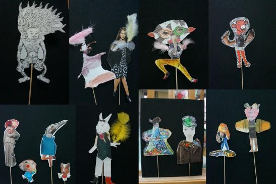 les z'ateliers de sophie Les Folles Marionnettes