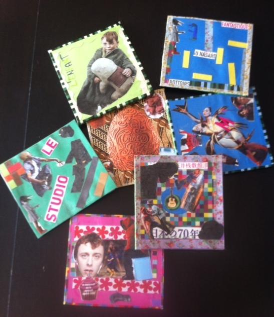 collages pour tapis de souris