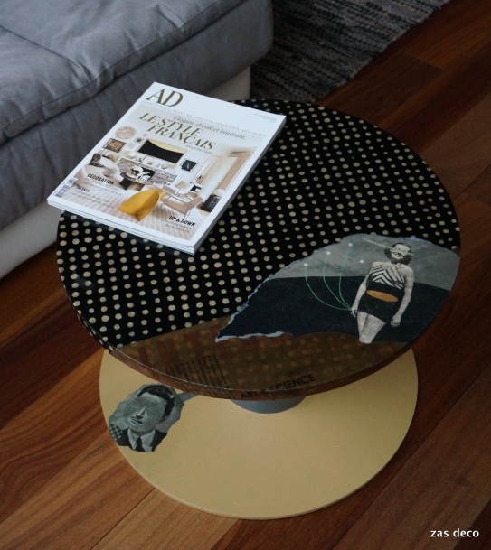 table Elle & Lui / Polka Dot (95 euros)