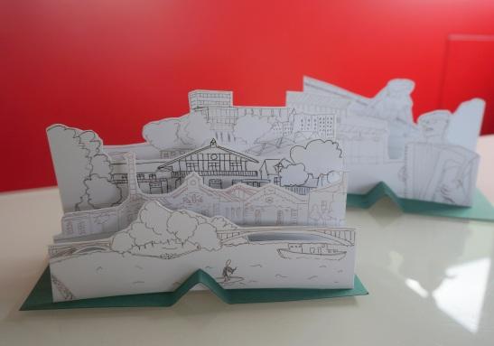 Creation originale pour la ville de Joinville-Le-Pont par Les z'ateliers de sophie.